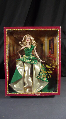 New Barbie Dolls 2010 Holiday Barbie Christmas Holiday