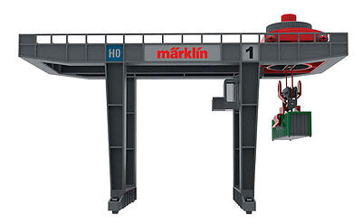 Märklin H0 72452 Modern Bridge crane for the loading of containers. NIP
