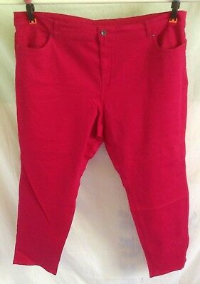 Autograph Pink Magenta Stretch Jeans-Size 26-New Season Autograph On Sale