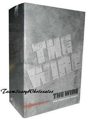 Brand New The Wire - The Complete Series (DVD, 2011, 23-Disc Set) Factory Sealed
