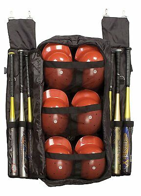 Champion Team Combination Baseball Bat and Helmet Fence Hanging Bag