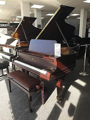 Restored Steinway Model B grand piano in rosewood satin cabinet