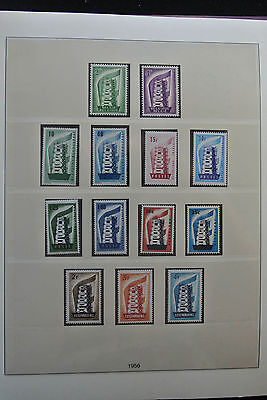 Lot 26352 Collection stamps of Europa CEPT 1956-1999.