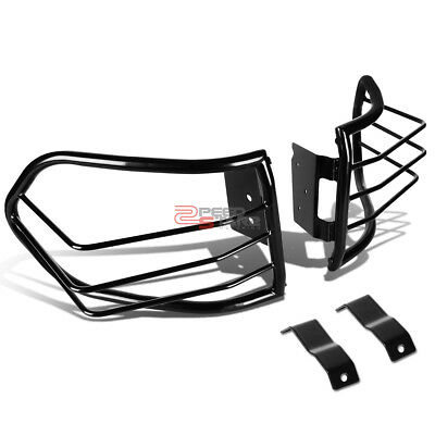 For 07-12 Fj Cruiser Suv Black Coated Stainless Steel Tail Light/lamp Guard Kit