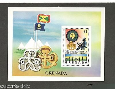 1976 Grenada SC #730 - 50TH ANNIVERSARY of GIRL GUIDES  MNH stamps