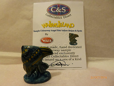 Wade Whimsie One Of A Kind Colourway Angel Fish 1