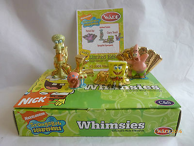 Wade Whimsie Spongebob Gold Specials Le 50