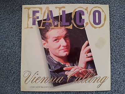 Falco - Vienna calling (The New '86 Edit Mix) US 7'' Single MIT COVER
