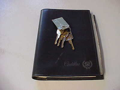 1988 Cadillac DeVille/Fleetwood Owners Manual Guide Book WITH Gold Keys.