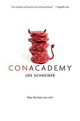 Con Academy by Joe Schreiber (English) Paperback Book Free Shipping!