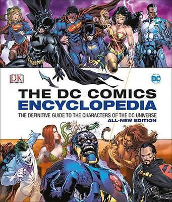 DC Comics Encyclopedia Updated Edition by DK (English) Hardcover Book Free Shipp