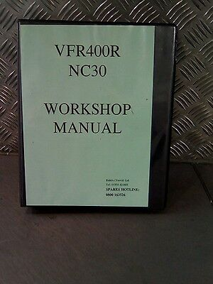 vfr400r and nc30 workshop manual (s)
