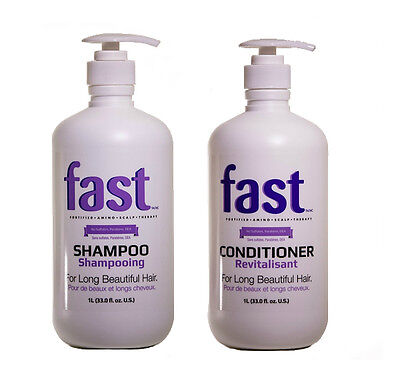 Fast Hair Growth Shampoo Conditioner Large Litre Sls Free Salon Size Sets + Pump