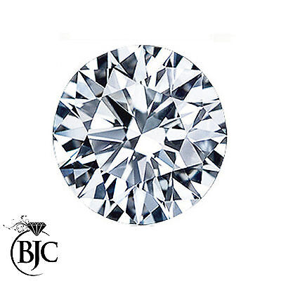 BJC® 0.08ct Loose Round Brilliant Cut Natural Diamond E SI2 2.60mm Diameter