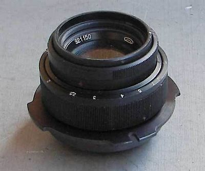 MC Helios-44-3M 2/58mm MMZ lens for ARRI Red One Arriflex PL movie camera - EXC.