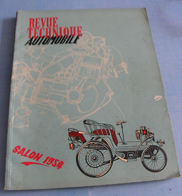 Revue Technique Automobile - Salon 1954