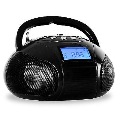 [Occasion] Mini Radio Portable Bluetooth Boombox Recepteur Stereo Fm Usb Sd Mp3