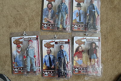 Dukes Of Hazzard Series 2; 8 Inch Action Figures; Set Of 5 Figures. Figures Toy