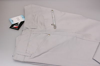 JRB Classic Moisture Dry Fit Golf Team Trousers 10 or 16 Pale Silver Grey New