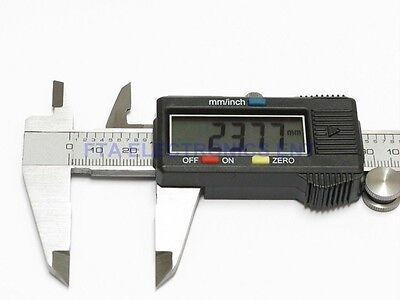 Digital Caliper Vernier Micrometer Measuring Tool with 11mm LCD Shop Engineering