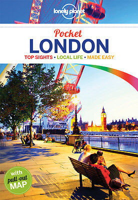 Lonely Planet POCKET LONDON (Travel Guide) - BRAND NEW 9781743218624