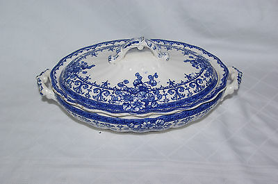Antique Keeling & Co (Losol) Tureen Vegetable Seving Bowl & Lid Oxford c1890's