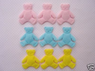 60 Yellow,Pink,Blue Felt Baby Chick Easter Applique//Craft//Trim//Spring//Cute H290