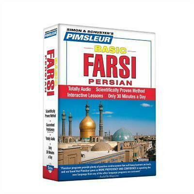 Basic Farsi: (Persian) by Pimsleur (English) Compact Disc Book Free Shipping!