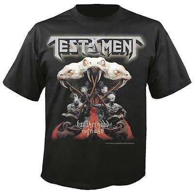 TESTAMENT - Brotherhood of the snake T-Shirt