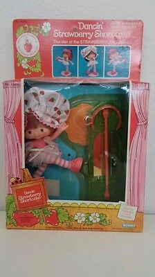 Vintage Strawberry Shortcake Dancin Ballerina NIB SEALED