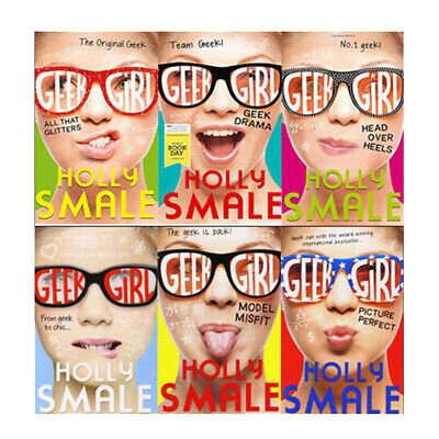 Geek Girl Collection Series 6 Books Set Pack By Holly Smale Model Misfit New[PB
