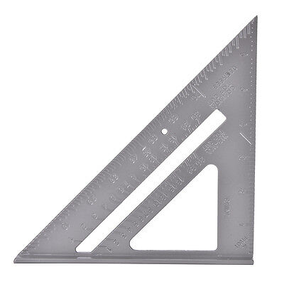 Aluminum Alloy Speed Square Protractor Miter Framing Measurement Carpenter Best