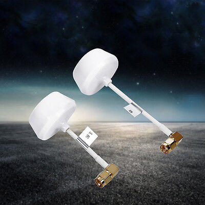 New 5.8GHz Circular Polarized Mushroom Antenna RP-SMA Tx/Rx for FPV Multicopter