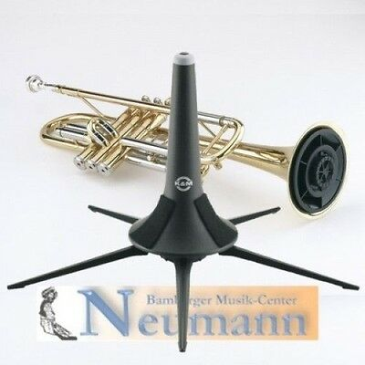K&M Trumpet stand 5 Legs Travel Trumpet stand Foldable 15213