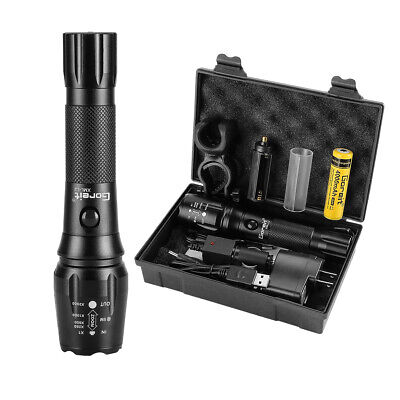 Bright 90000LM LED Headlamp Head Torch T6 USB Rechargeable Headlight Flashlight