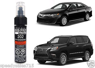 Genuine Toyota 00258-00202-21 Onyx Black Touch-Up Paint Pen New Free Ship USA