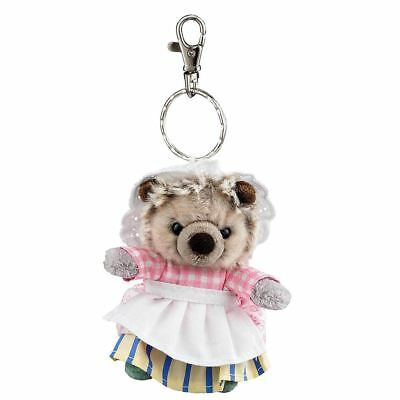 Official Beatrix Potter Mrs Tiggy-Winkle Plush Keyring Keychain - Bag Clip