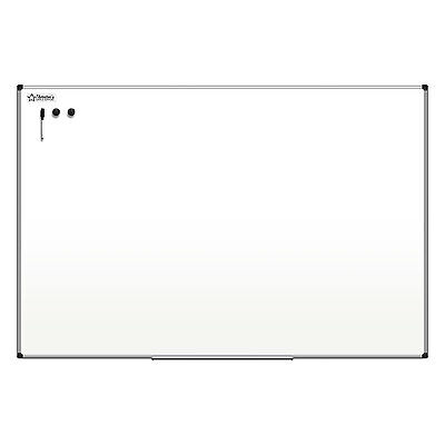 Thornton's Office Supplies Aluminum Frame 36 x 48 Magnetic Dry Erase Whiteboard