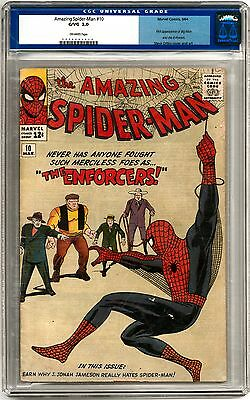 Amazing Spider-Man #10 CGC 3.0 (OW)