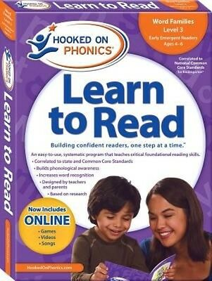 Hooked on Phonics Learn to Read, Kindergarten by (English)