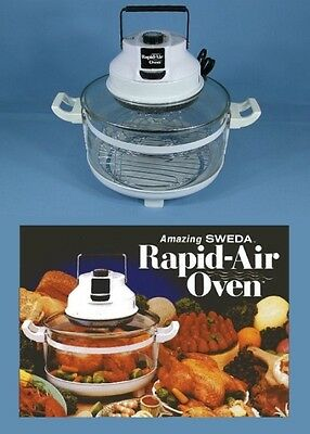 * Sweda Rapid-Air 1200W Convection Cooker Oven Mod 707 + 2 Racks + User Manual *