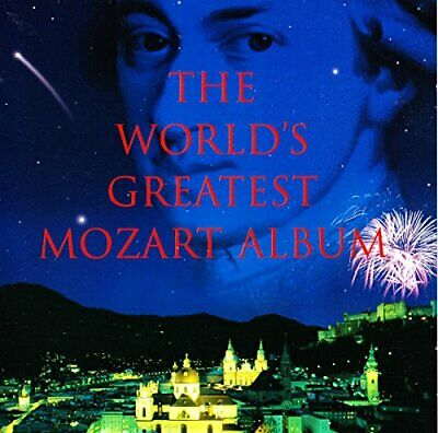 The World's Greatest Mozart Album -  CD UCVG The Cheap Fast Free Post The Cheap