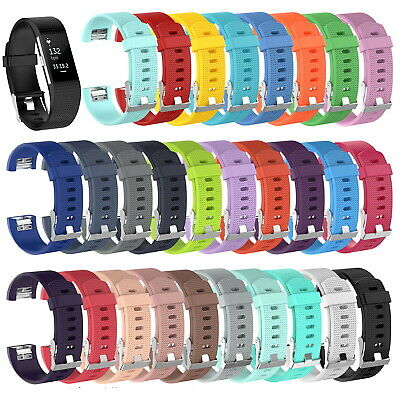 Replacement Silicone Rubber Band Strap Wristband Bracelet For Fitbit CHARGE 2