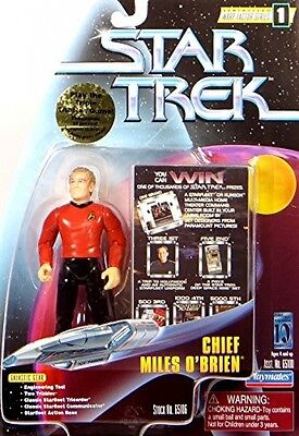 Star Trek Chief Miles O'Brien With Tribbles Action Figure