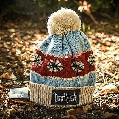 Limited Game Don't Starve Cap Winter Knitted Hat Unisex Adult Size Xmas Gift