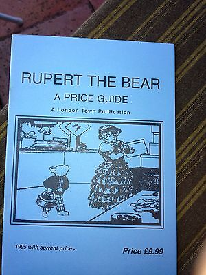 Rupert The Bear - Price Guide - Values And Dates Annuals