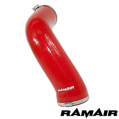 Red Ramair Silicone Induction Intake Pipe Air Hose - Seat Leon 2.0 TSI MQB EA888