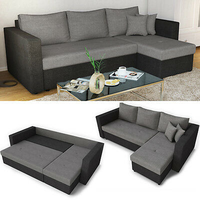 schlafsofa manhattan sofa schlaffunktion bettkasten couchgarnitur. Black Bedroom Furniture Sets. Home Design Ideas