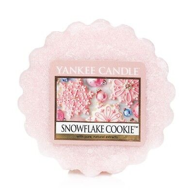 Yankee Candle Snowflake Cookie Scented Tart Wax Melt