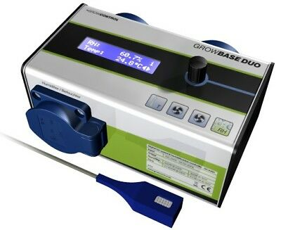 Growcontrol GrowBase Duo Digitaler Klima-Controller Zeitschaltung Grow Indoor